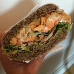 Det Grønne Køkken - København N, Danmark. Chicken sandwich