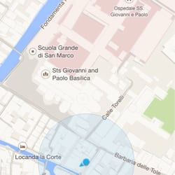 Osteria Alla Staffa - Here's the actual location. The yelp map is wrong and there are different addresses listed online. - Venezia, Italien