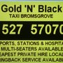 Gold N Black Taxis