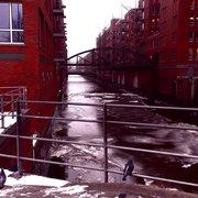 Etwas Winter in der Speicherstadt... :)