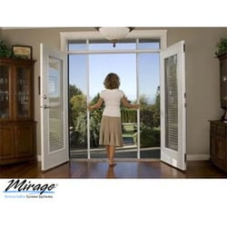 Mirage retractable screen doors san diego contractors for Best rated retractable screen doors