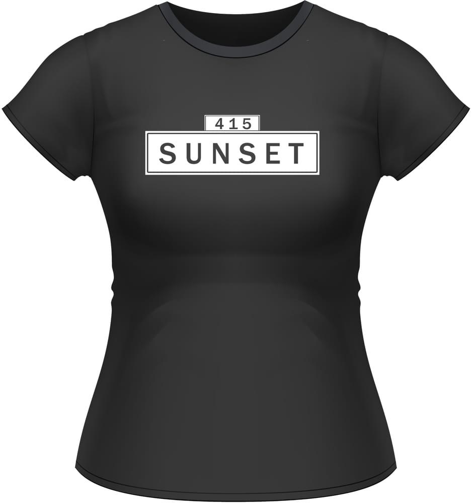 Neighborhood T Shirts 415 Sunset Bernal Tenderloin