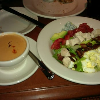 Nordstrom Grill - my favorite combo. their famous crab bisque, half ...
