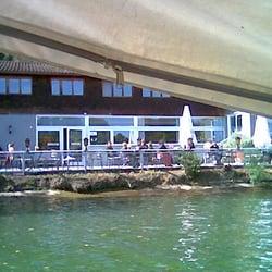 Terrasse Keefertal direkt, am Neckar