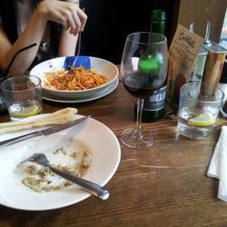 Risotto and calamari.