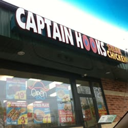 Captain hook s fish chicken geschlossen sandwiches for Captain hooks fish chicken