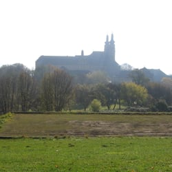 Kloster Banz von der Waldbühne aus…
