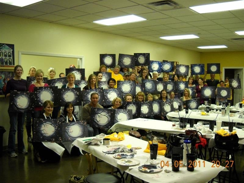 Painting with a twist closed social clubs lagrange for Painting with a twist locations near me
