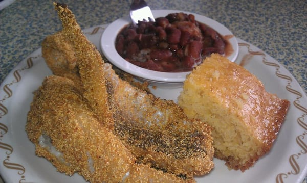 Whiting fish corn bread and red beans rice yelp for Whiting fish florida