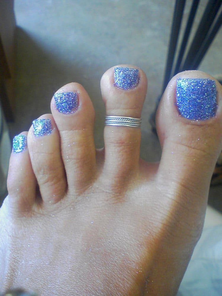 Glitter Toes How to Young Nails Sassy Nails Glitter Gel Toes