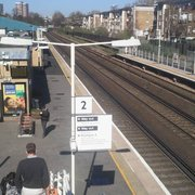 Kensington Olympia Station, London