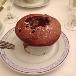 my delicious chocolat soufflé
