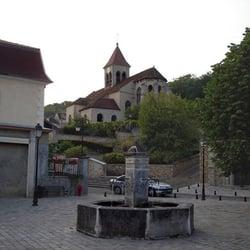 la fontaine aux pélerins, St Prix, Val-d'Oise