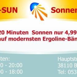 Cora-Sun Sonnenstudio + Hermes Paket-Shop, Braunschweig, Niedersachsen