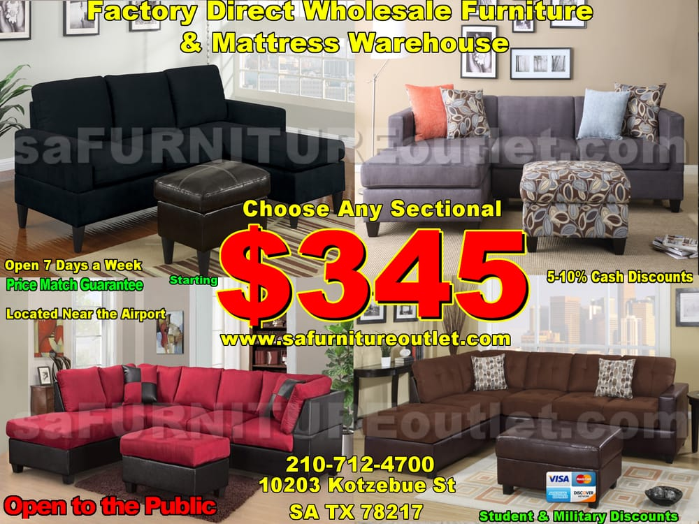 Sa Furniture Outlet 10 Photos Furniture Stores 10203 Kotzebue St San Antonio Tx