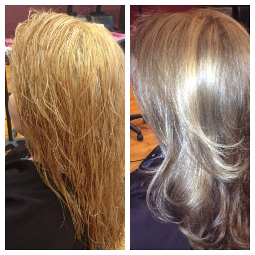 Major Color Correction From Someone Else That Bleached Out All Her Hair I Wen