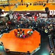 La Cité - Nantes, France. La scène de la Grande Halle pour la #FolleJournee 2013 !