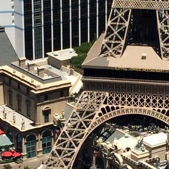 Eiffel Tower Restaurant Las Vegas NV United States Right On The Corner