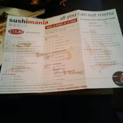 Menu options other side