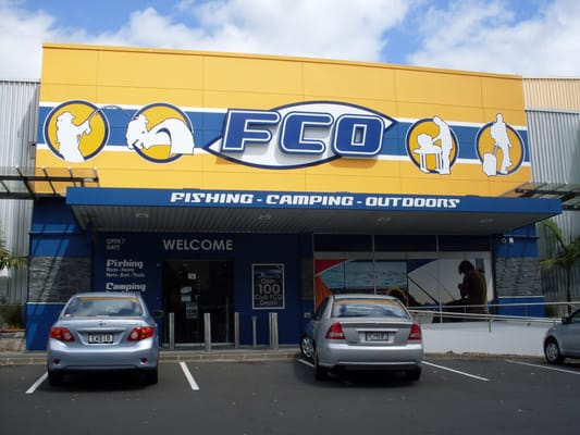 Fco fishing camping outdoors outdoor gear auckland for Fishing gear stores near me