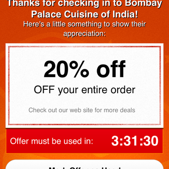 Bombay palace cuisine of india fairfield ca yelp for Akbar cuisine of india coupon