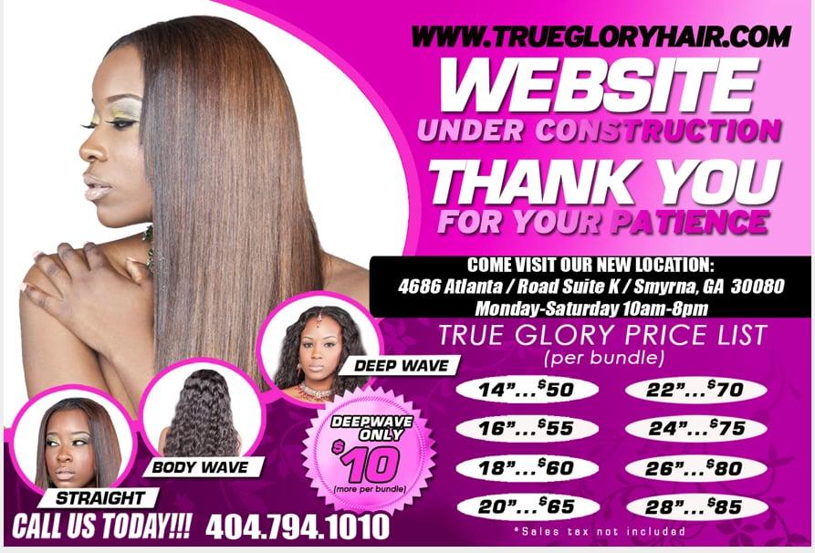 True Glory Hair Prices True Glory Hair Smyrna ga