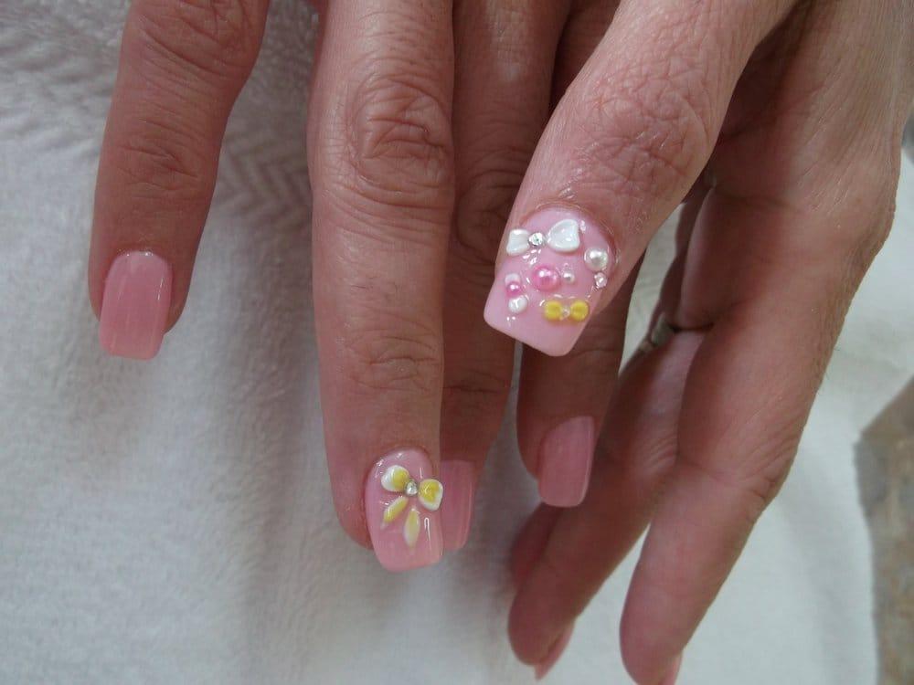 bow 3d nail designs yelp