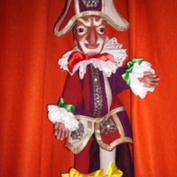 Une marionnette fabriquée au théâtre