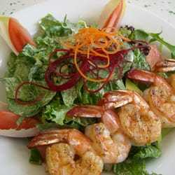 Grilled Shrimp Salad with Dill Dressing by Quynh N.