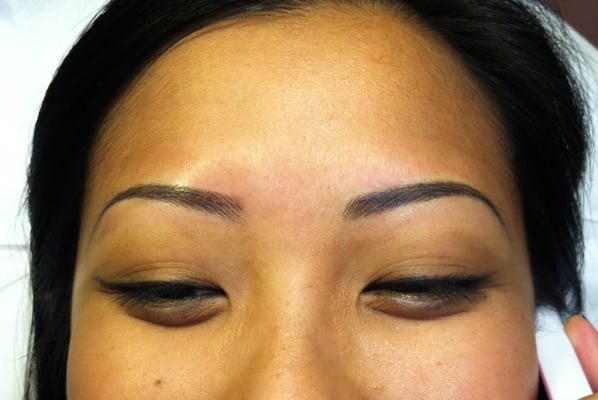 Something you are glad you didn 39 t pick up from mom 39 s for Tattoo eyebrows nj