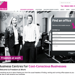 The Citibase website designed and developed by Reactive Graphics.