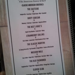 The Pendergrass Restaurant - Classic American cocktail list - Hollister, CA, Vereinigte Staaten