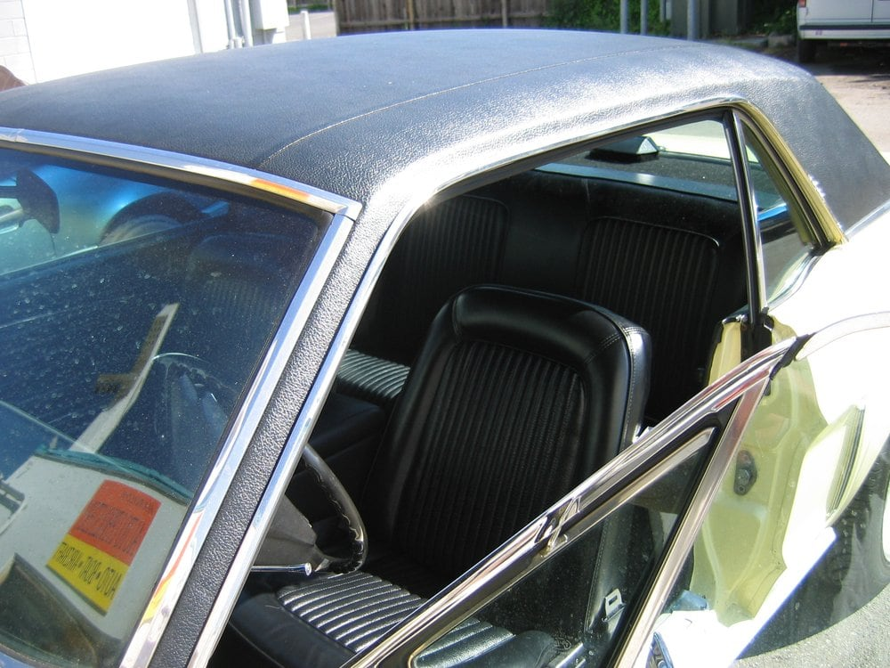 1969 mustang interior and vinyl top restoration yelp. Black Bedroom Furniture Sets. Home Design Ideas