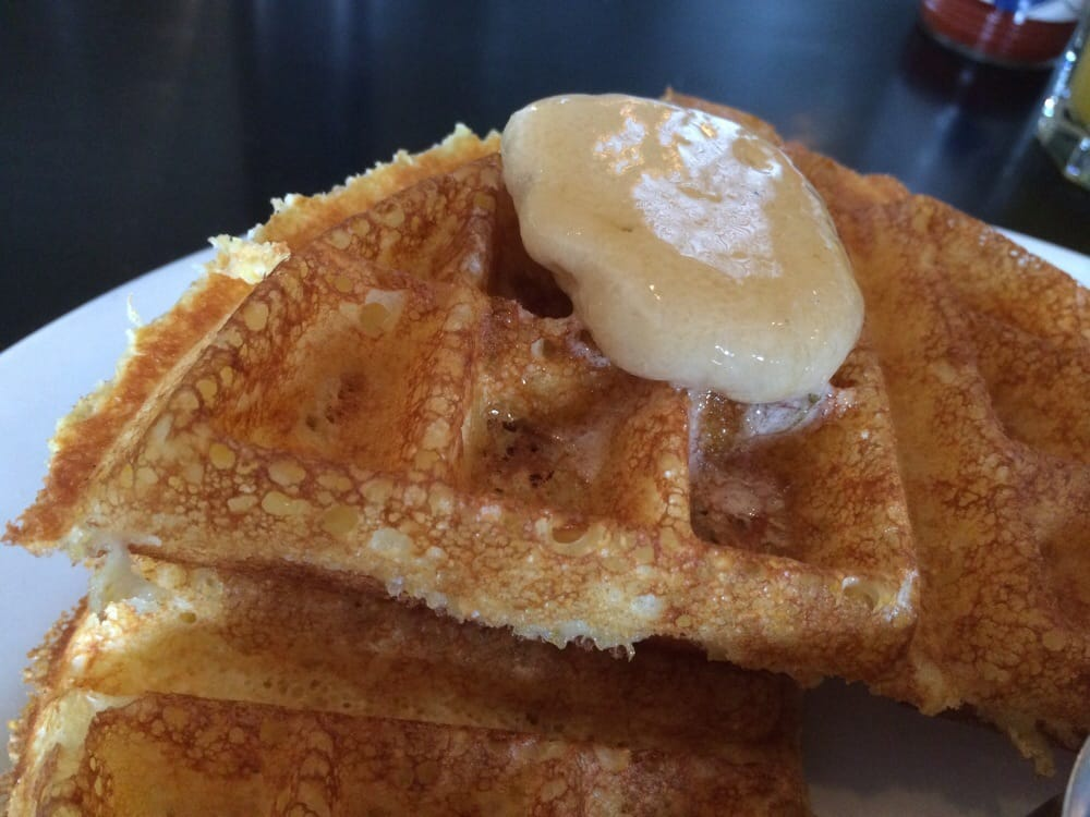 and brown butter waffles recipes dishmaps buttermilk and brown butter ...