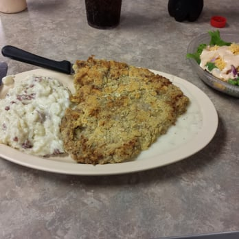 Incredible chicken fried steak.