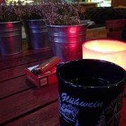 Lecker Glühwein trinken im Cafe May…
