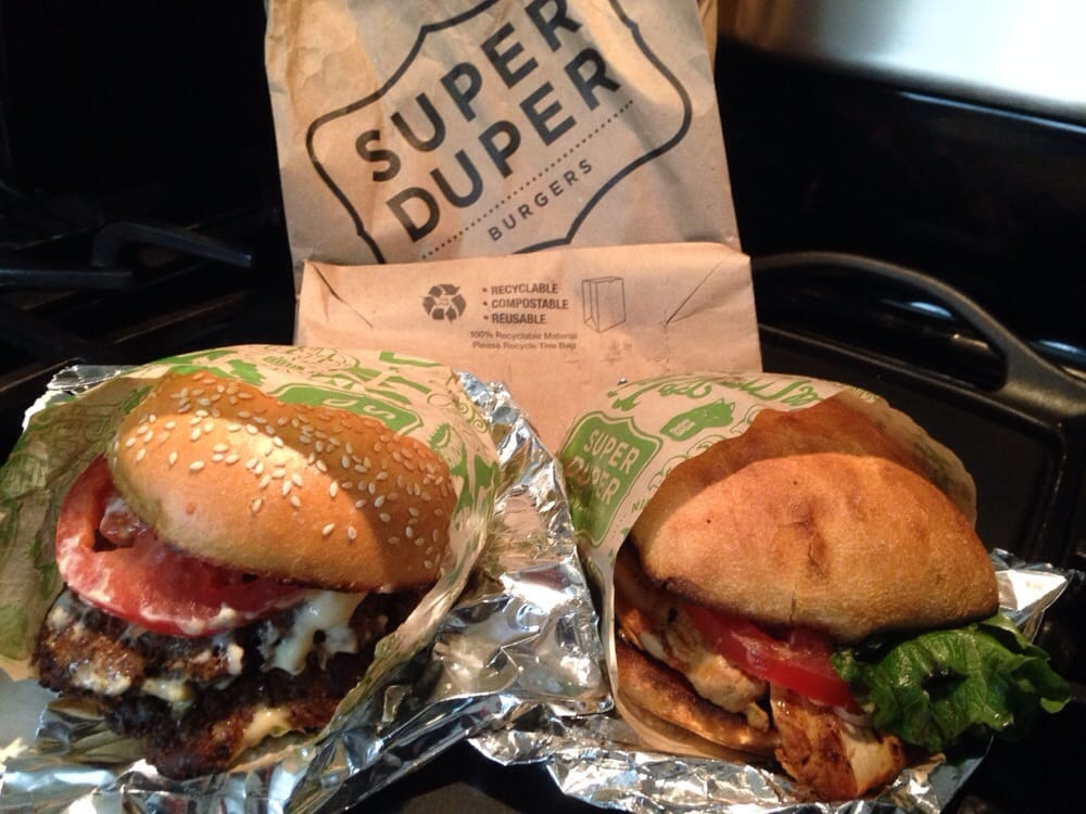 Super Duper Burger Chicken Sandwich Super Duper Burgers San