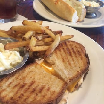 Bella Luna Cafe - Grilled chicken panini and a meatball sandwich ...