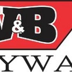 Drywall installation Denver, V&B Colorado drywall contractors logo