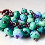 Woodland inspired bracelet and necklace…