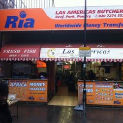 Las Americas Cafeteria, London