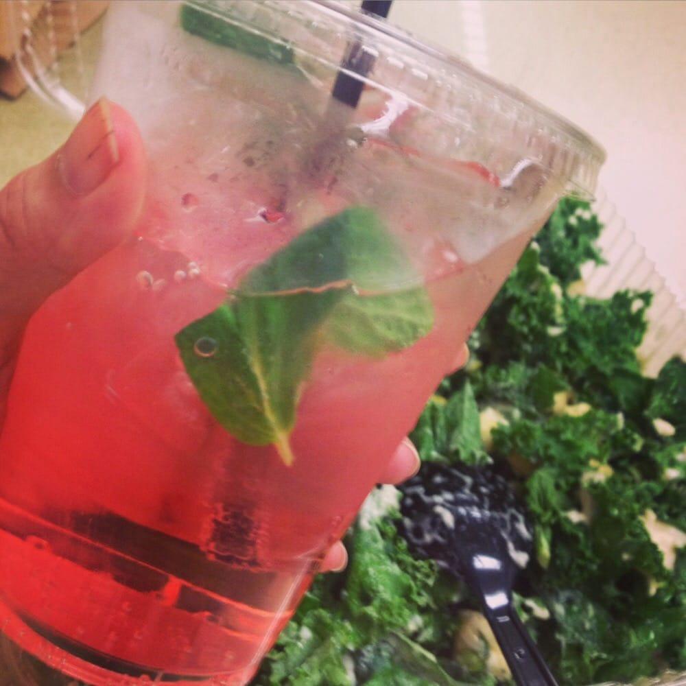 "... United States. Watermelon Cucumber Mint soda and Julio ""Caesar""..."