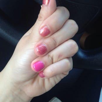 Gel manicure by Amy