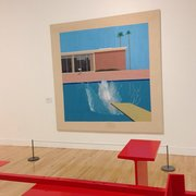 'A Bigger Splash'. David Hockney.