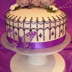 Couture 1 tier Wedding Cake