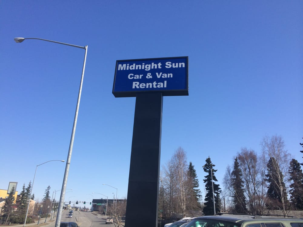 Midnight Sun Car And Van Rental Anchorage