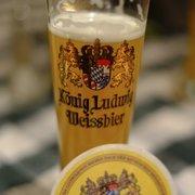 König Ludwig an der Messe, München, Bayern