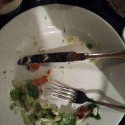 I'm so full from my cobb salad. Yum.