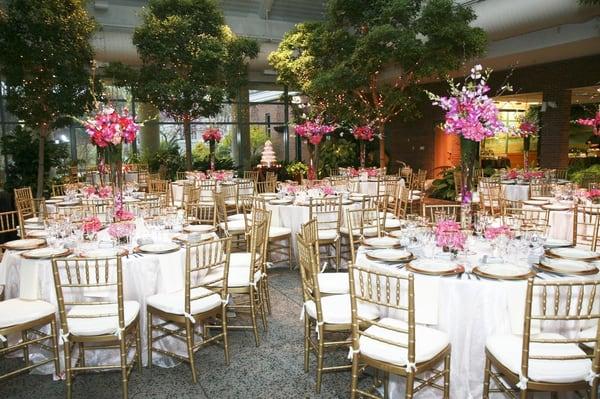 The atrium at meadowlark botanical gardens venues event spaces vienna va yelp for Meadowlark botanical gardens wedding
