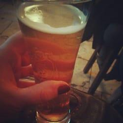 Fitzpatrick's Irish Pub - Montpellier, France. La blonde artisanale !